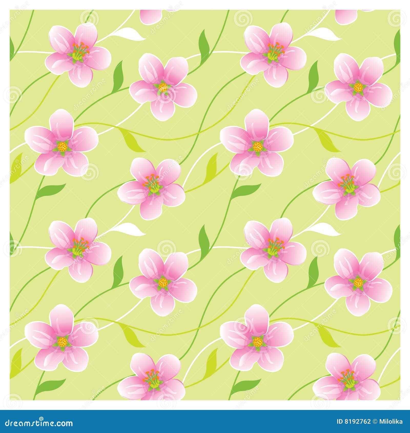 Blossoming безшовная текстура
