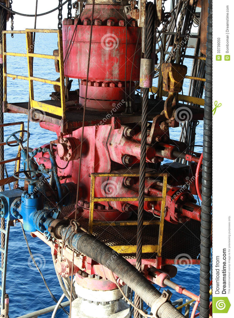 Blow Out Preventer  Bop  Stock Photo