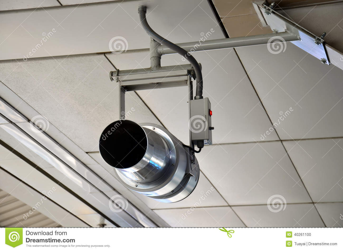 Small Industrial Fans And Blowers : Blower fan stock photo image