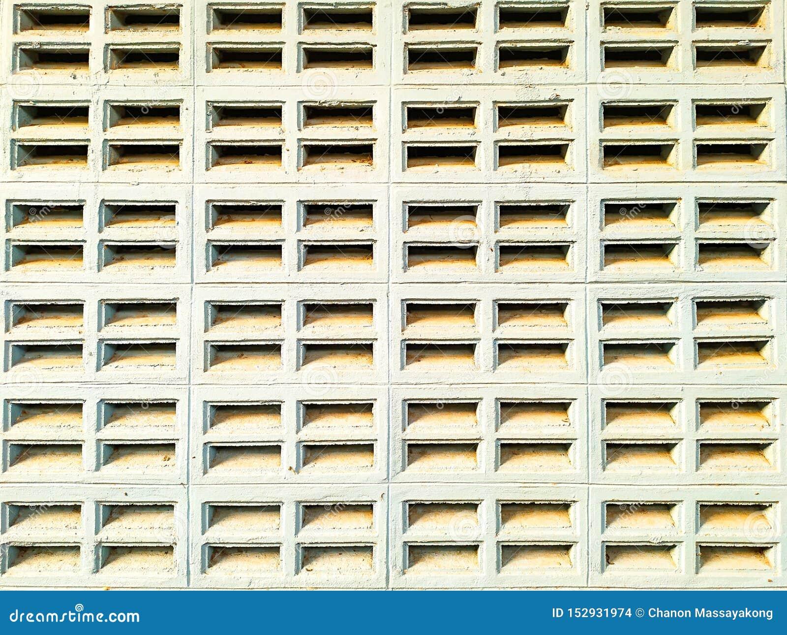 Blowhole ściana z cegieł