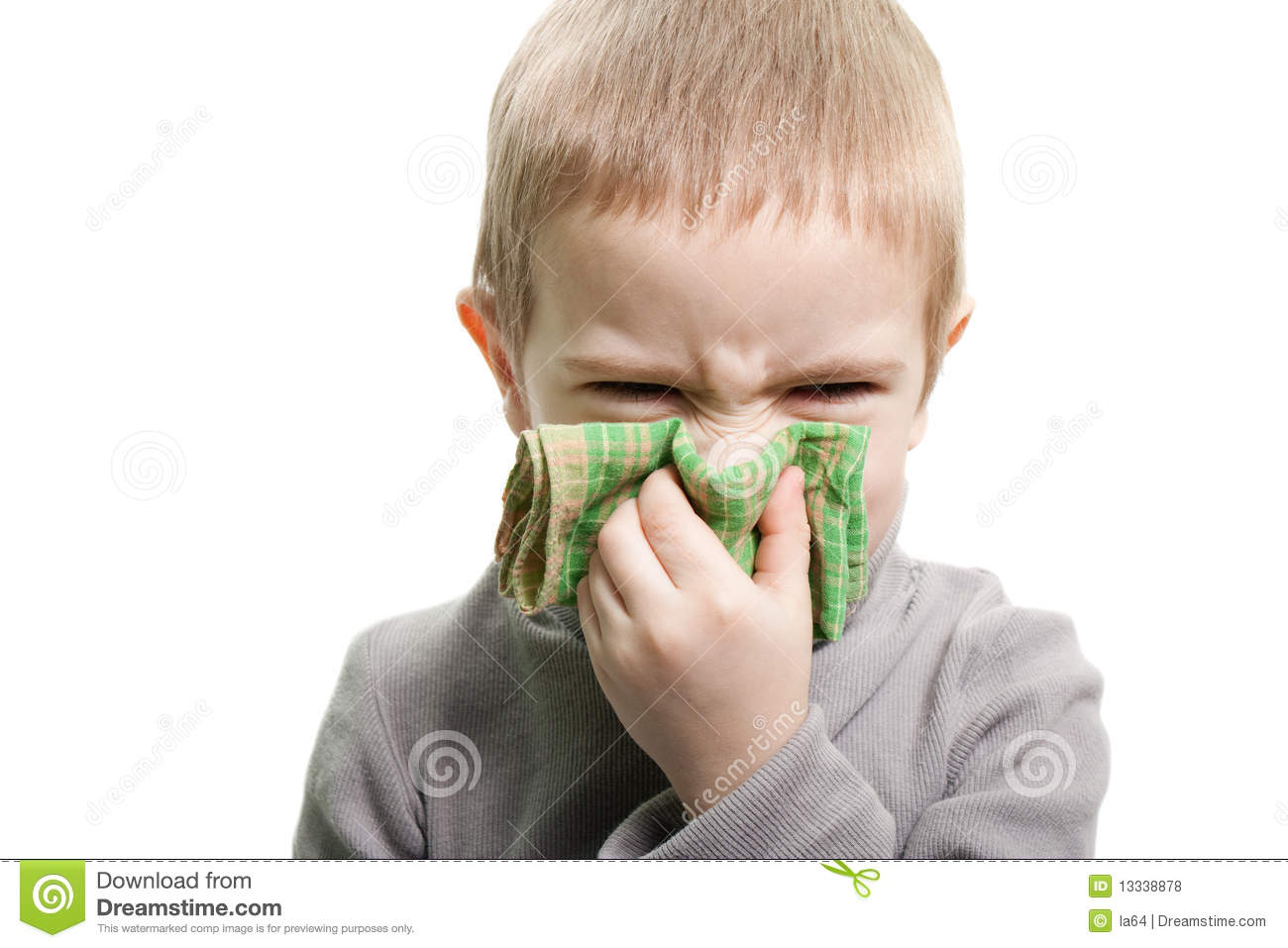 Blowing Nose Royalty Free Stock Photos Image 13338878