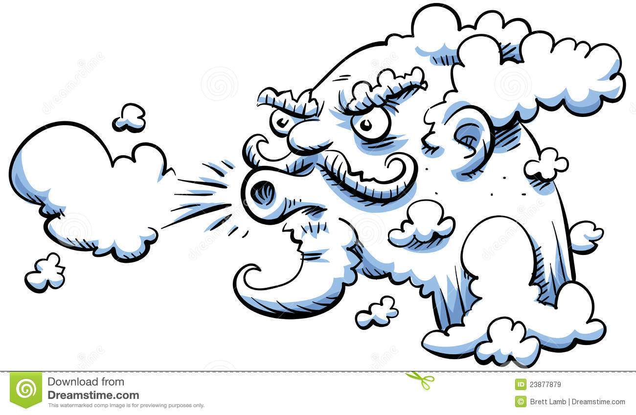 Blowing Wind Cloud - Free vector graphic on Pixabay