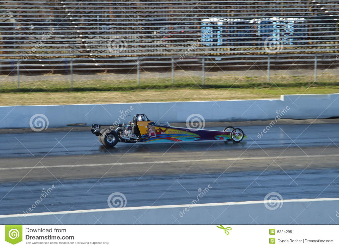 Blown Top Dragster editorial photo  Image of race, turbocharging