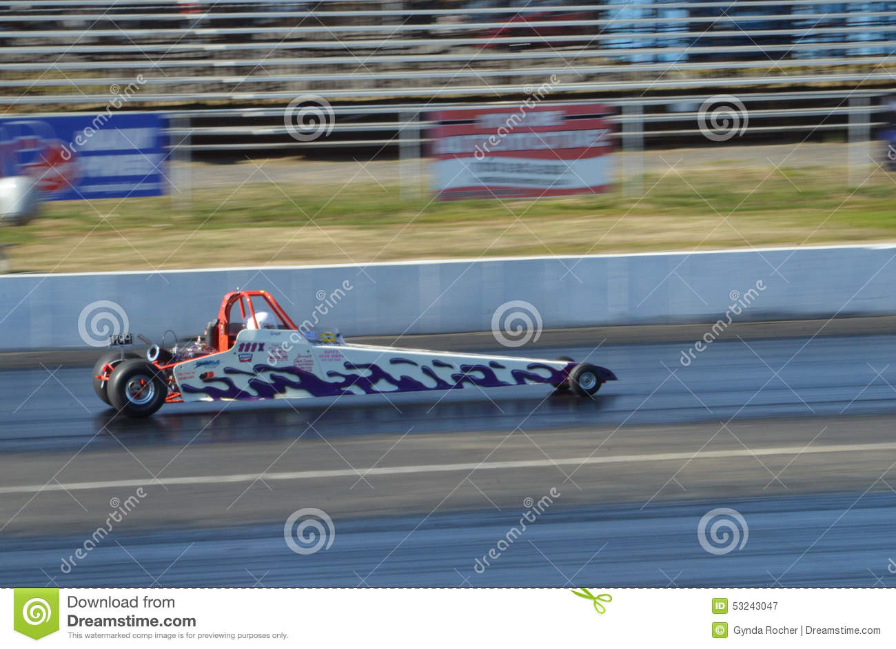 Blown Top Dragster editorial photography  Image of motor - 53243047