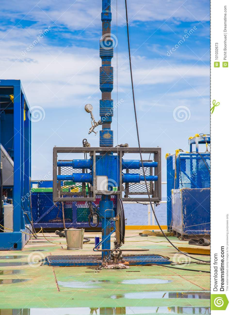 Blowout Preventer And Lubricator, Drilling Oil And Gas Well