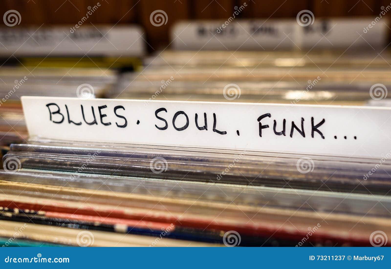 Blu, anima, annotazioni della musica funky