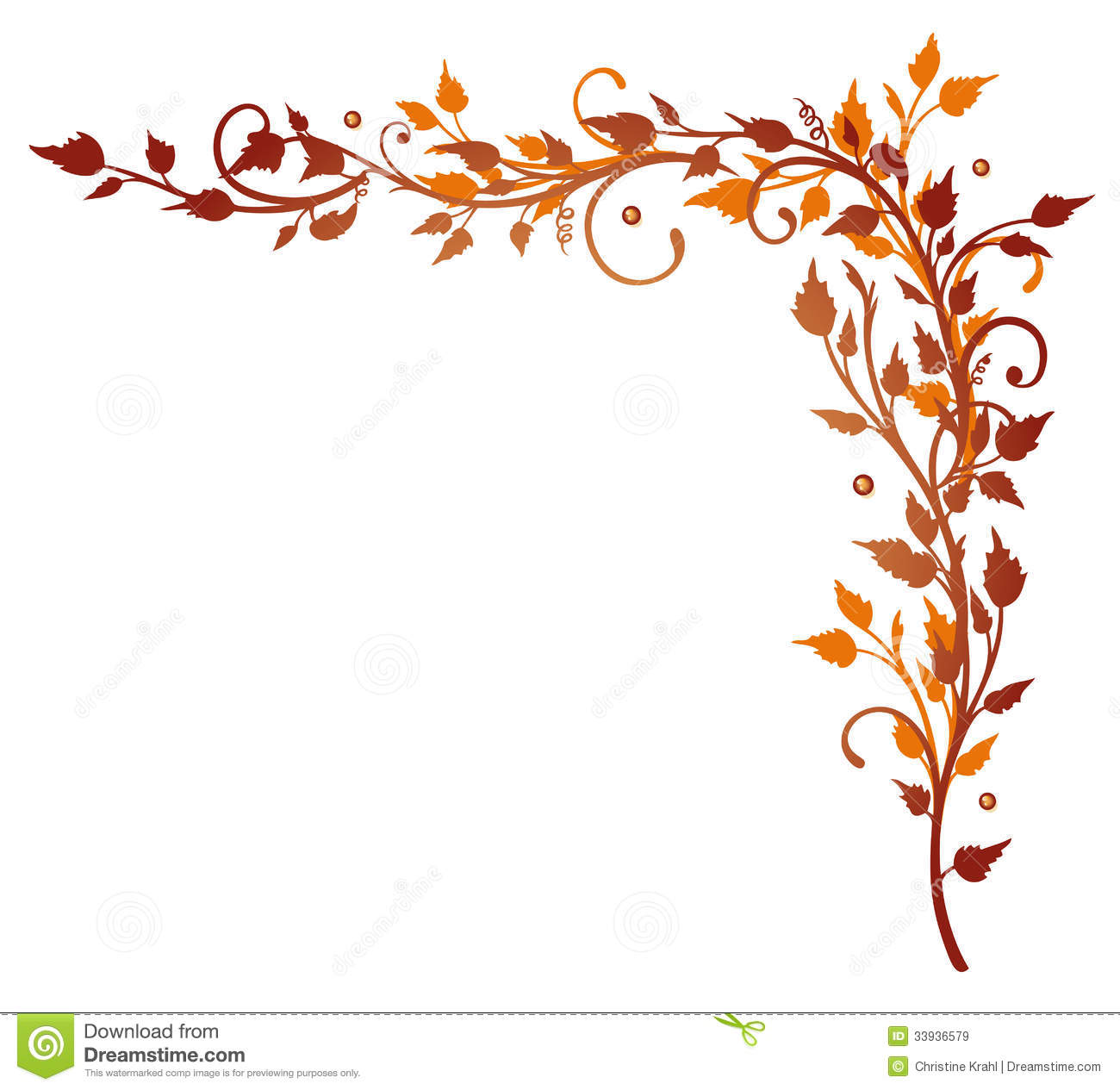 bl u00e4tter  ranke  herbst vektor abbildung illustration von thanksgiving clip art images thanksgiving clip art borders