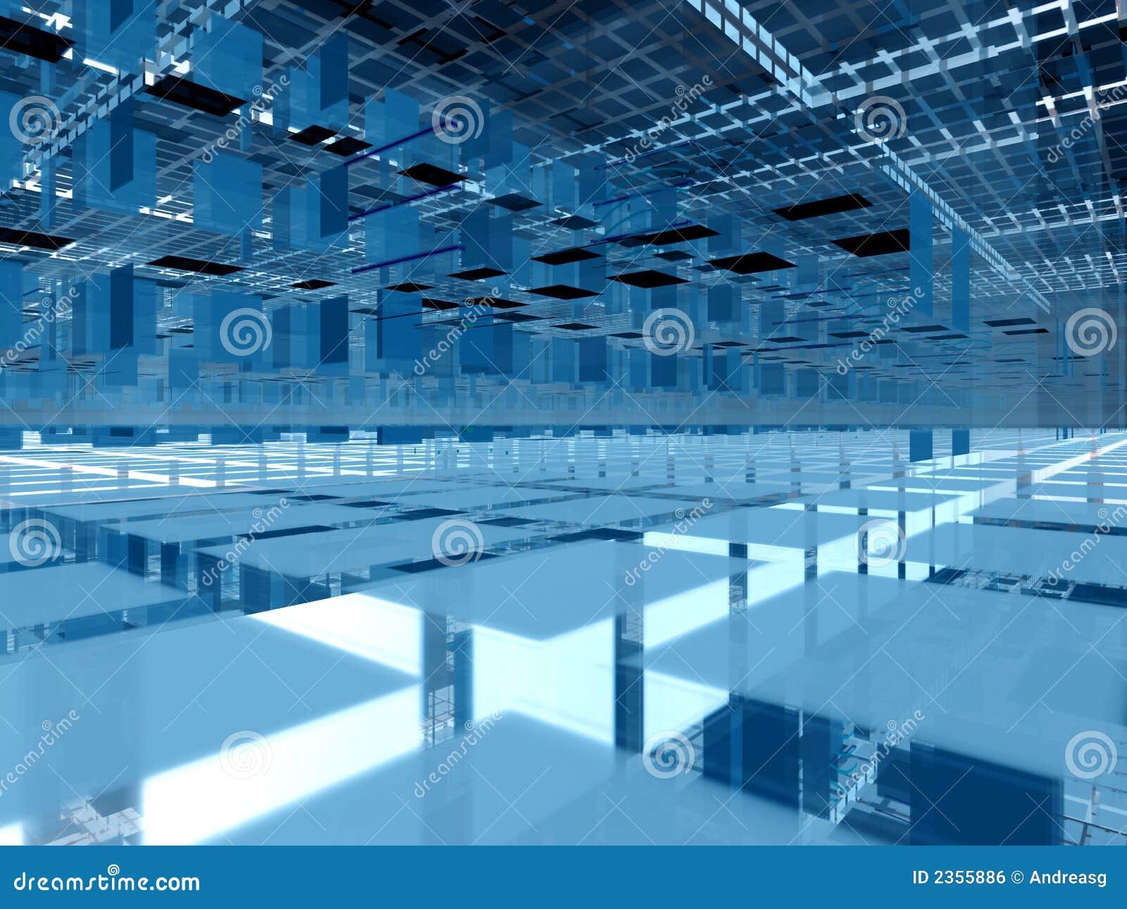 Blue 3d clusters architecture