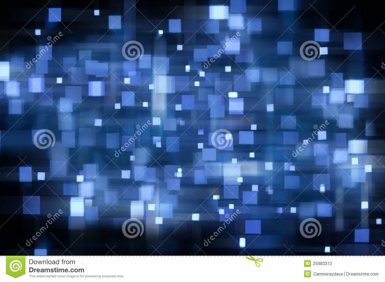 Blue Black Abstract Banner Background