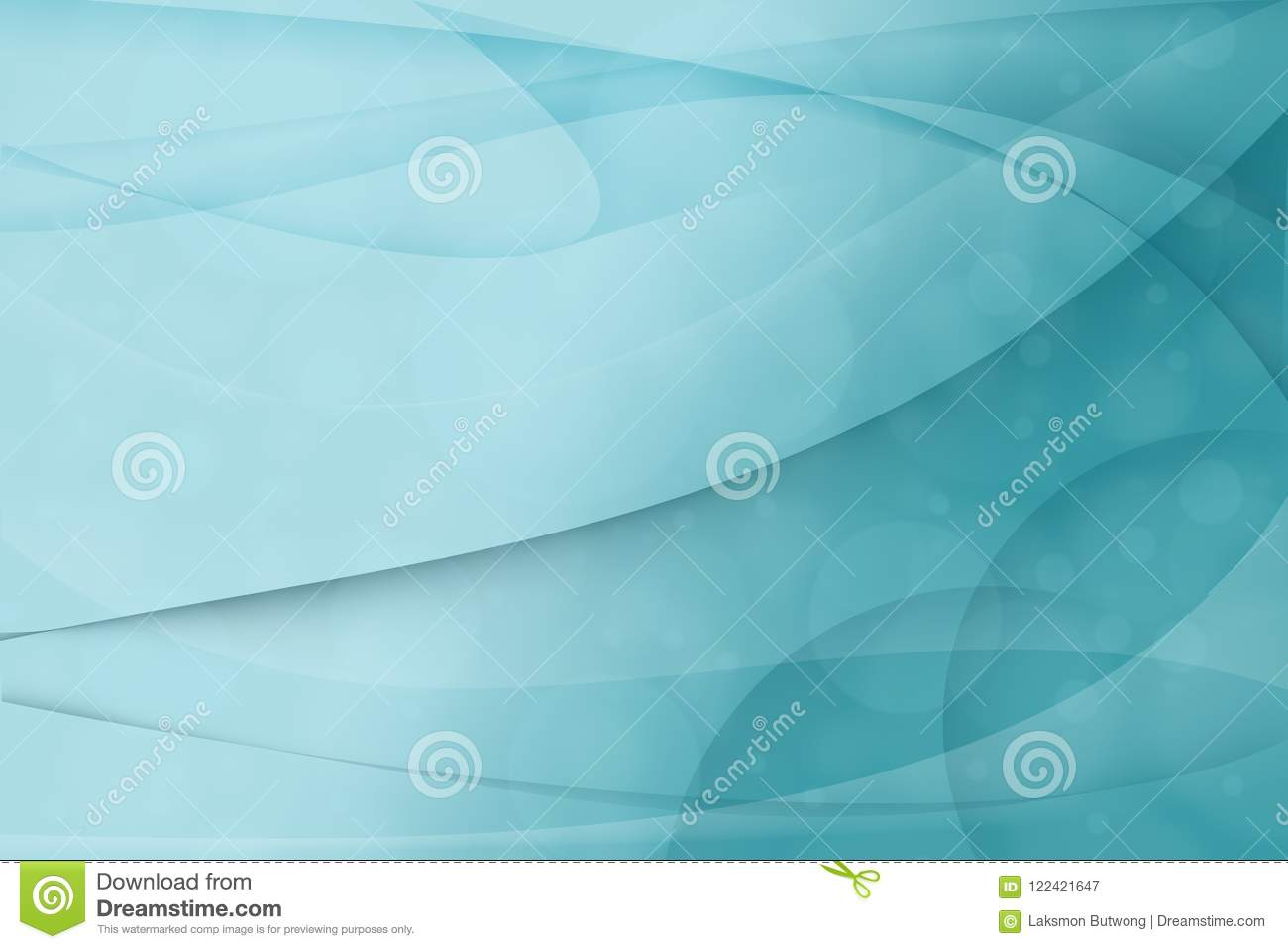 Blue Abstract Background Business Card Background Stock