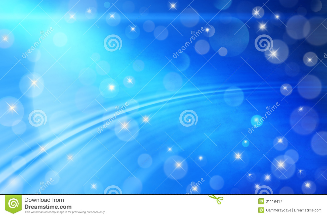 Blue Abstract Background Fun Celebration