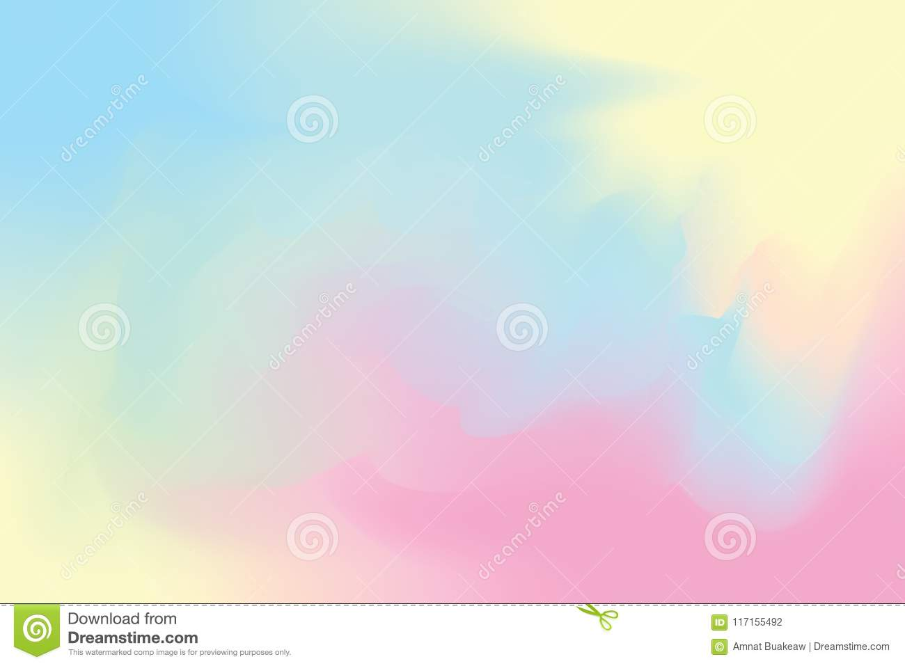 Blue abstract colorful bright color paint brush art background, multi colorful painting art acrylic water color wallpaper pastel