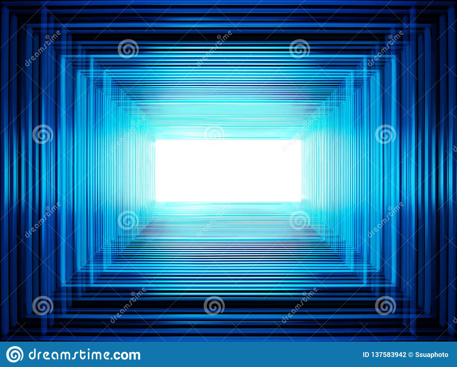 Blue abstraction for designers