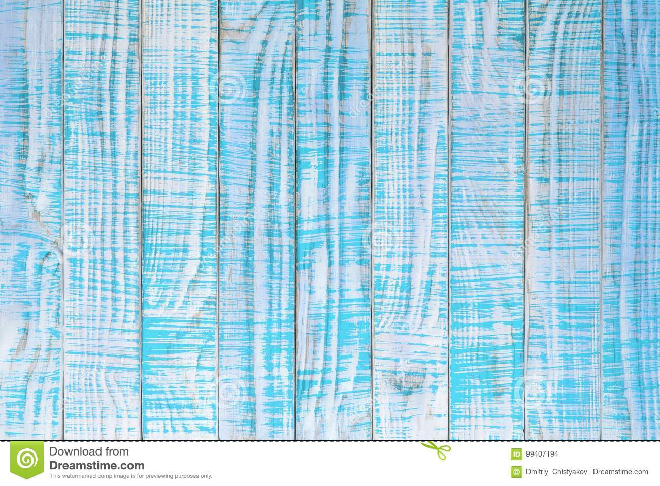 Download Old Wood Texture Painted In Teal Or Turquoise Color Light Blue Stock Photo