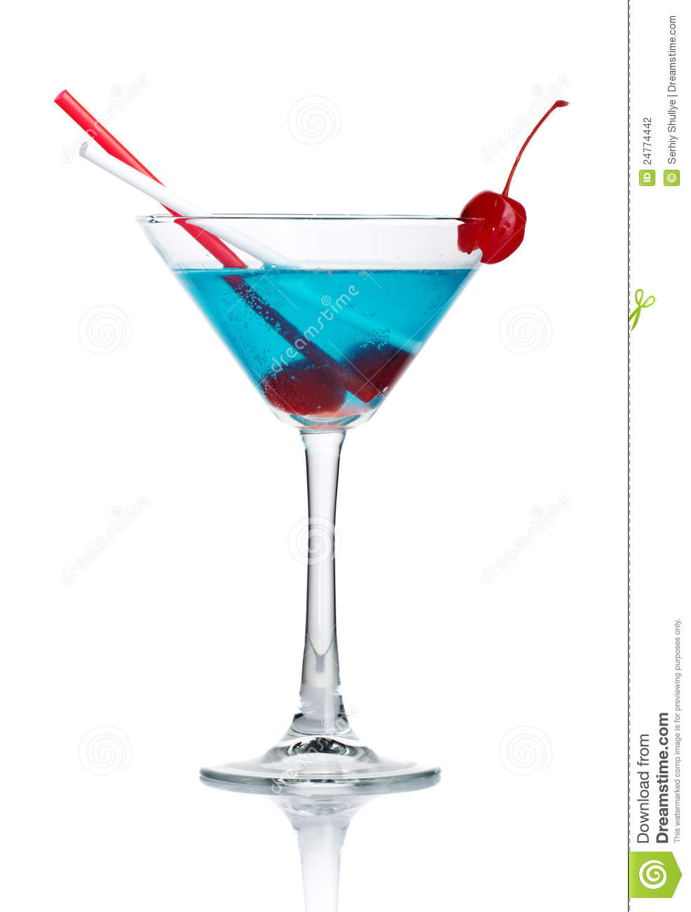 blue alcohol cocktail in martini glass isolated stock. Black Bedroom Furniture Sets. Home Design Ideas