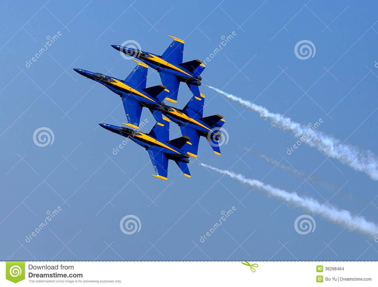 Blue Angel Airshow at Robins AFB
