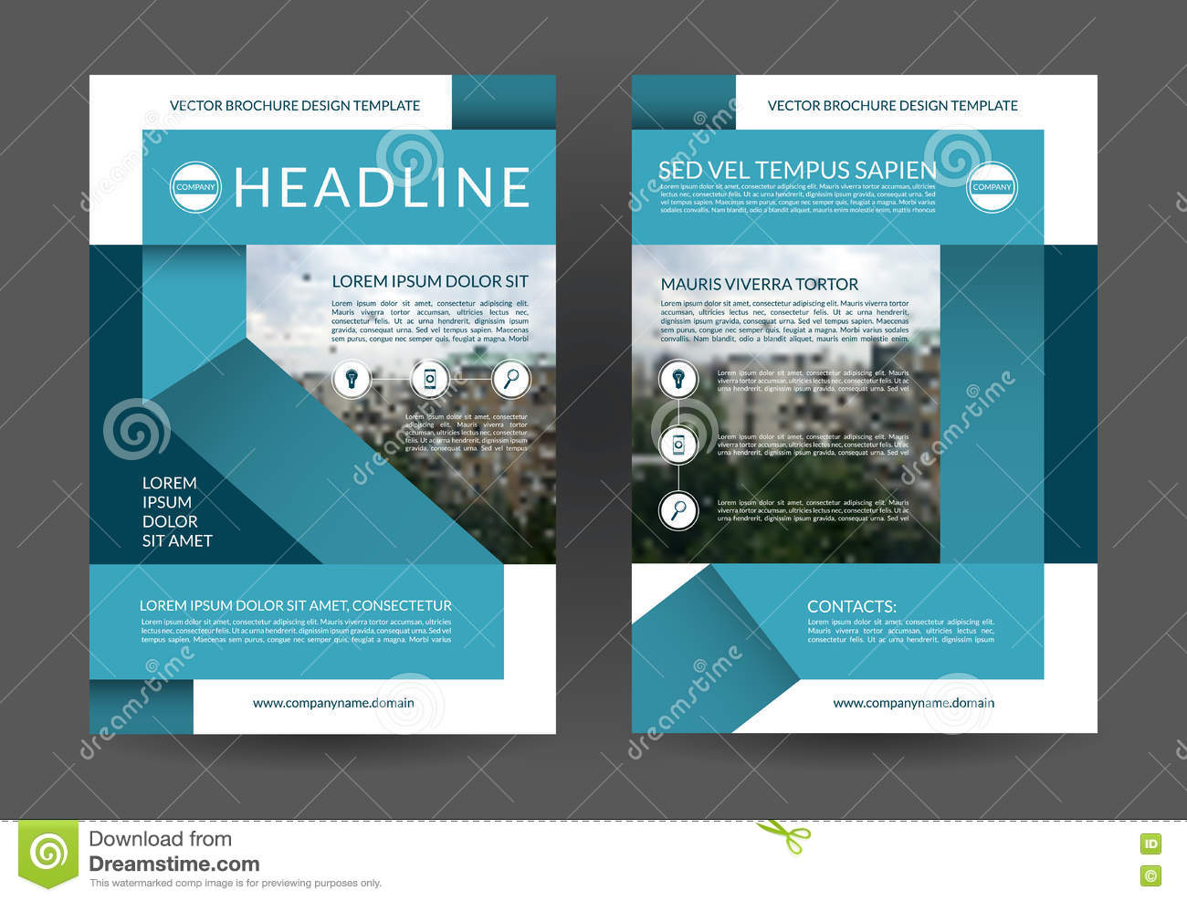 blue annual report brochure flyer layout template a size front blue annual report brochure flyer layout template a4 size front and back page
