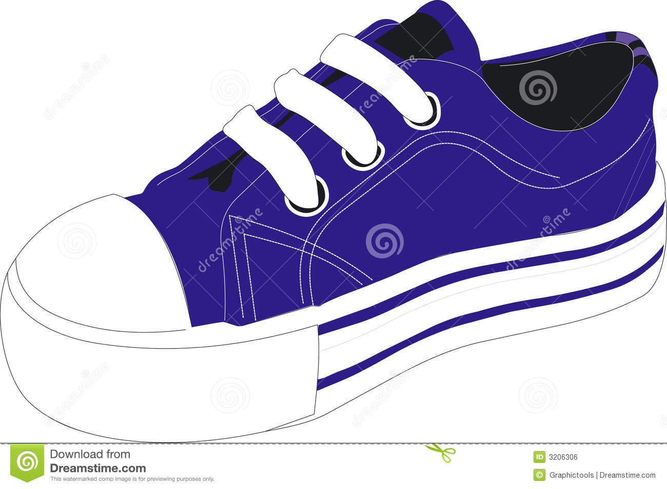Clip Art Tennis Shoe Clip Art blue tennis shoe clipart resolution 1300x954
