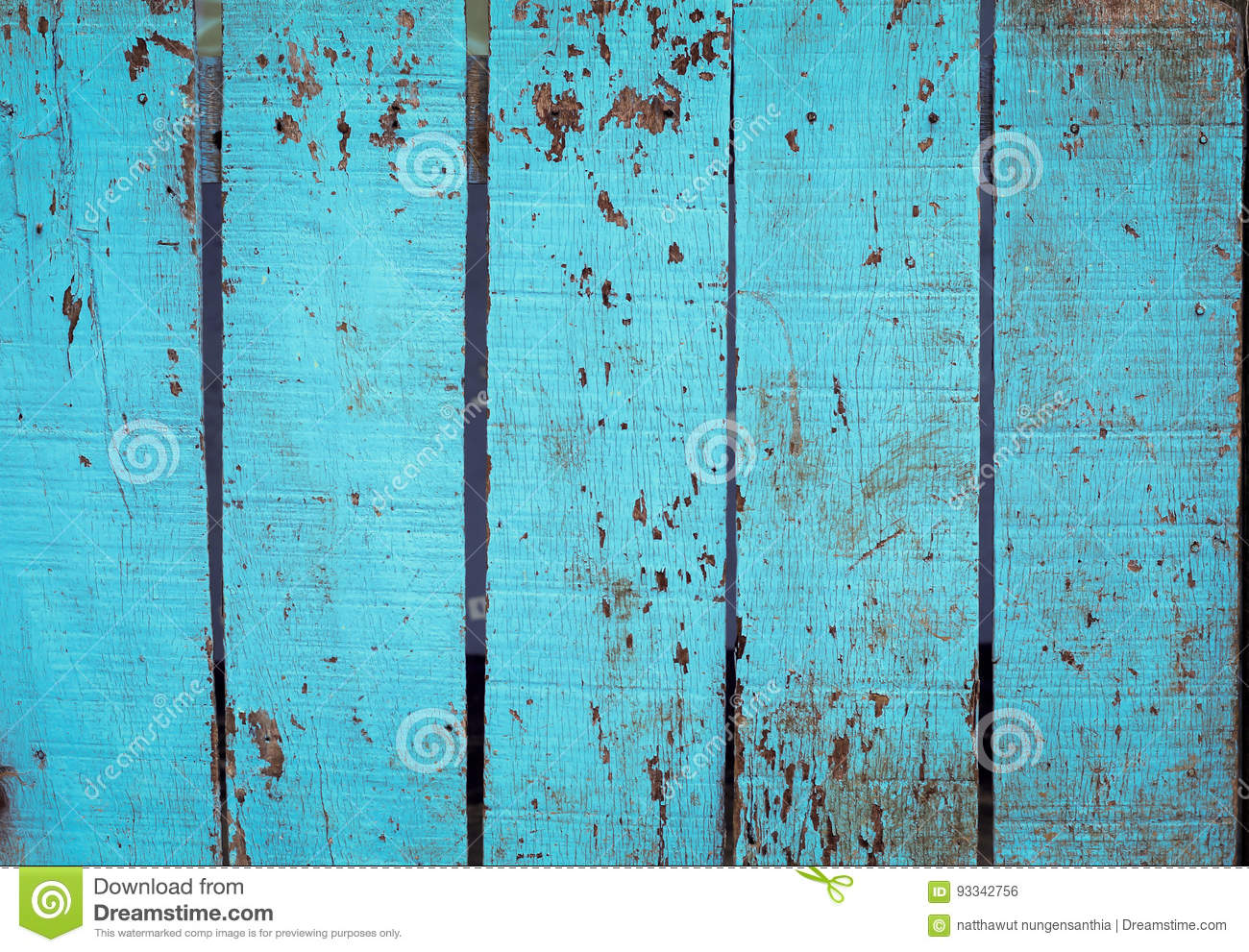 Blue Barn Wooden Wall Planking Vertical Texture Old Retro