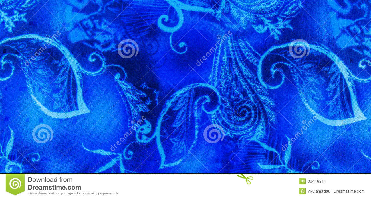 Batik Abstract Leaf Lace On Yellow Background Royalty-Free ...