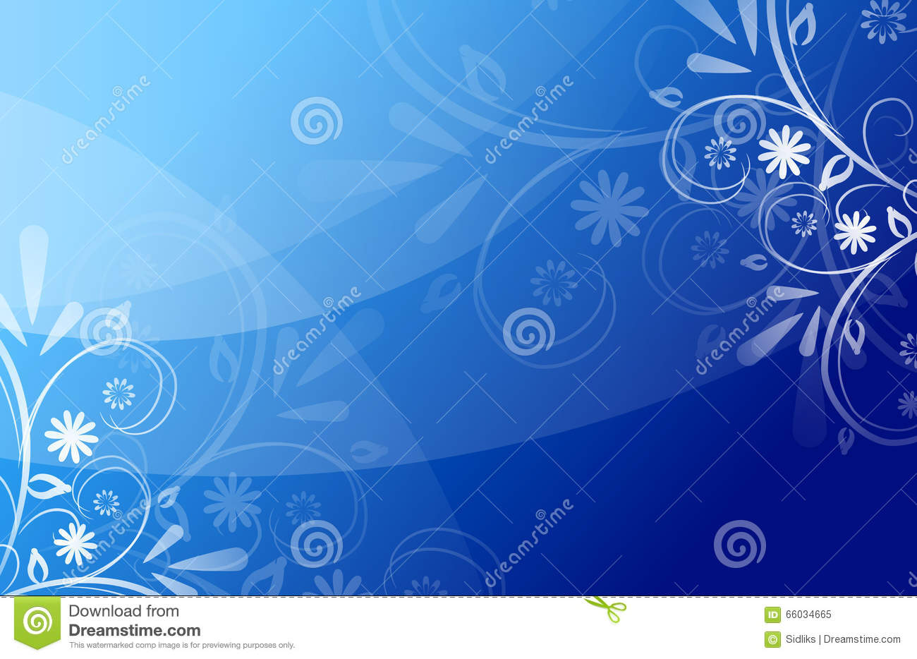 Blue Beautiful Abstract Background Stock Illustration - Image ...
