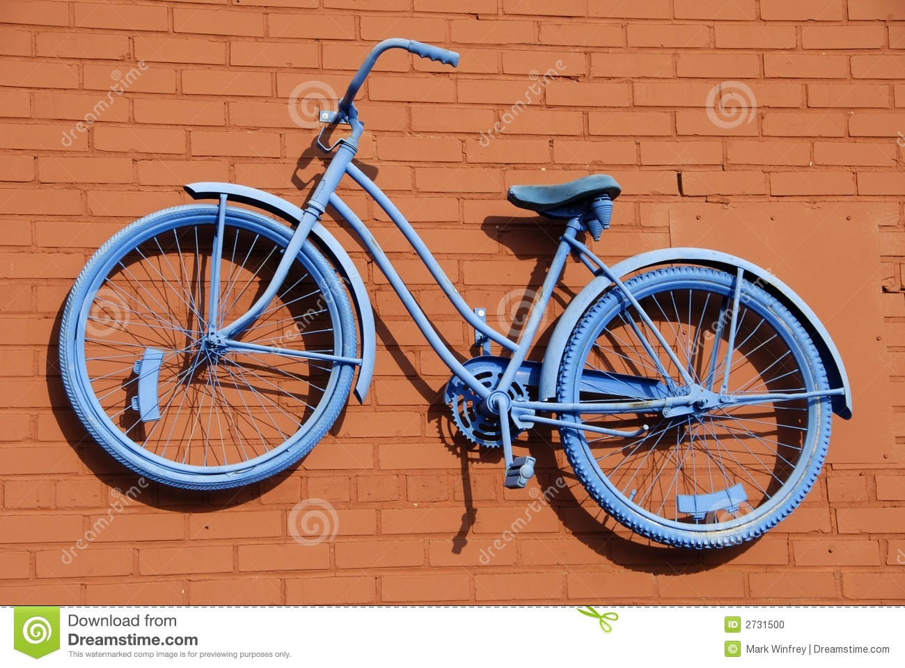 Download Blue Bicycle Abstract stock photo. Image of wheel, cycle - 2731500