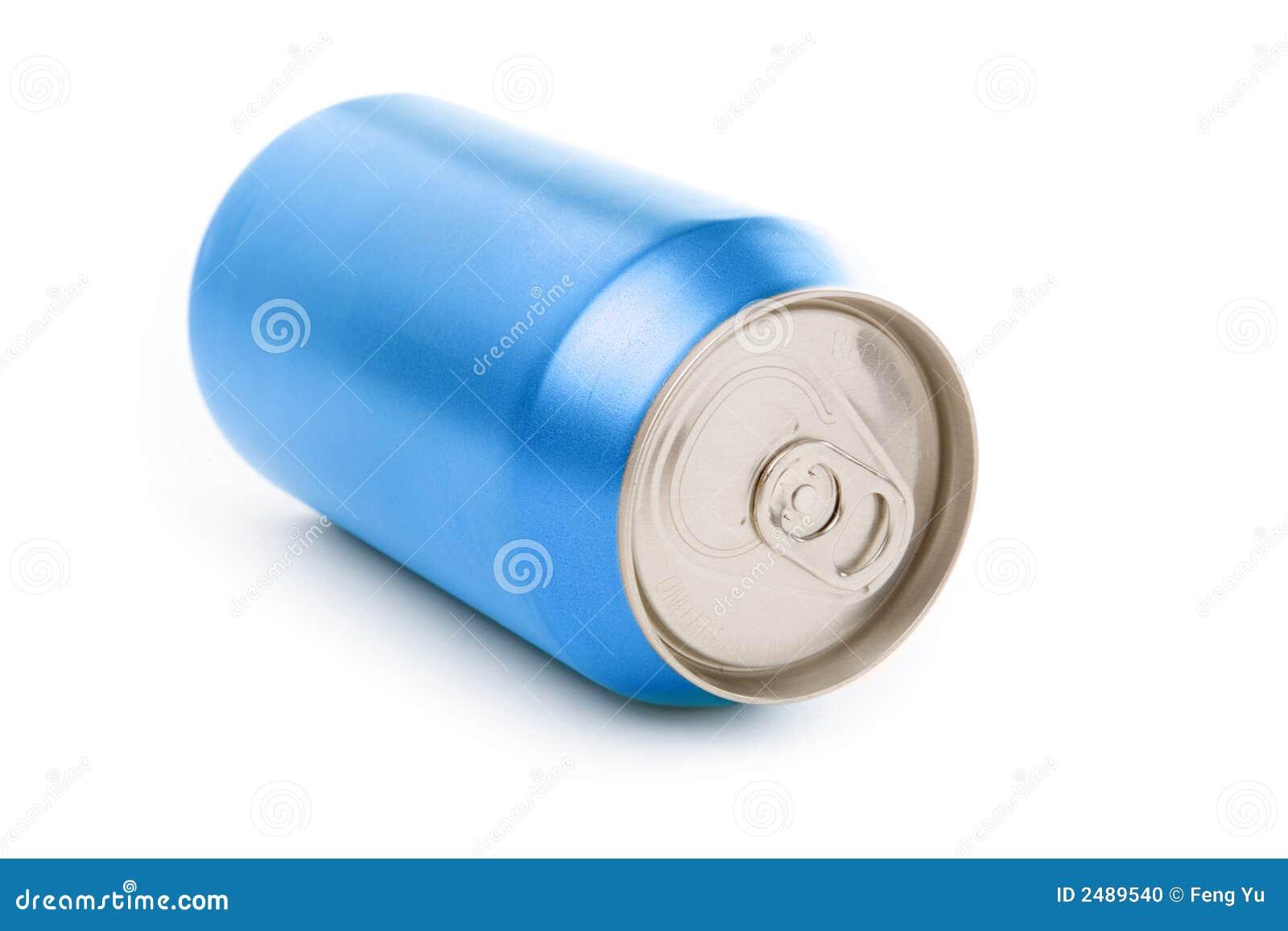 blank blue soda can - photo #17