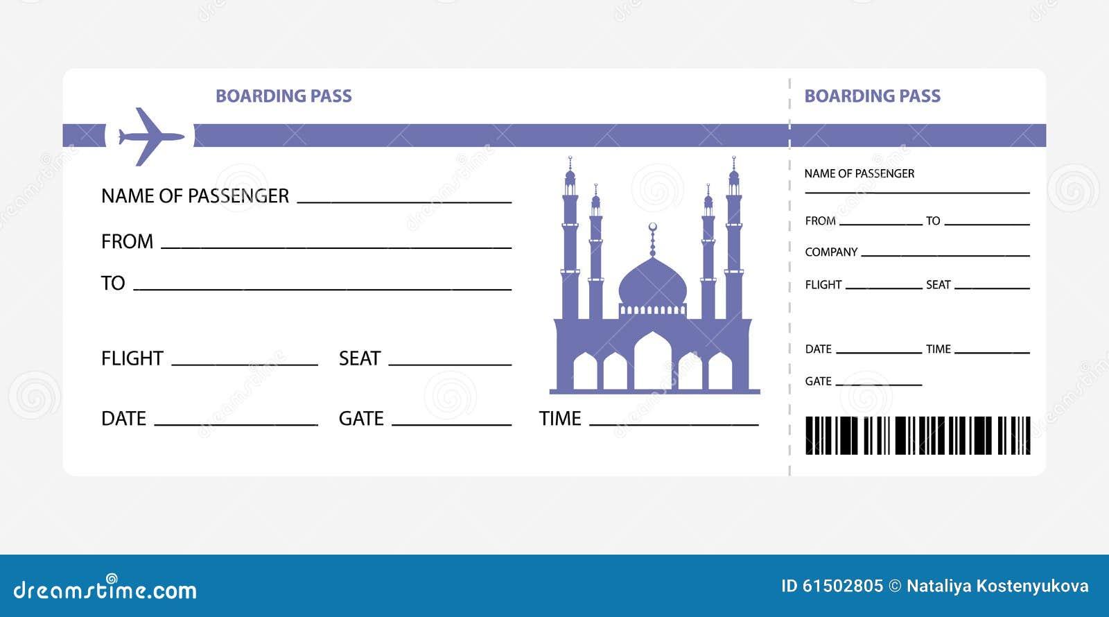 Plane Ticket Invitation as Beautiful Design To Make Best Invitations Sample