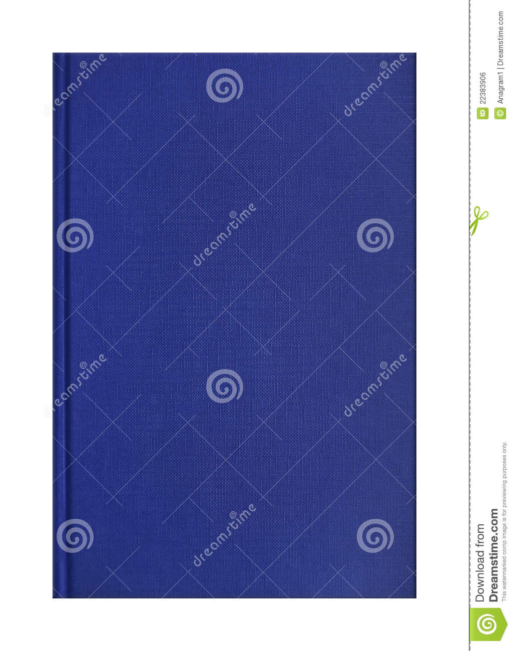 Blue Book Cover Texture ~ Blue book cover royalty free stock image