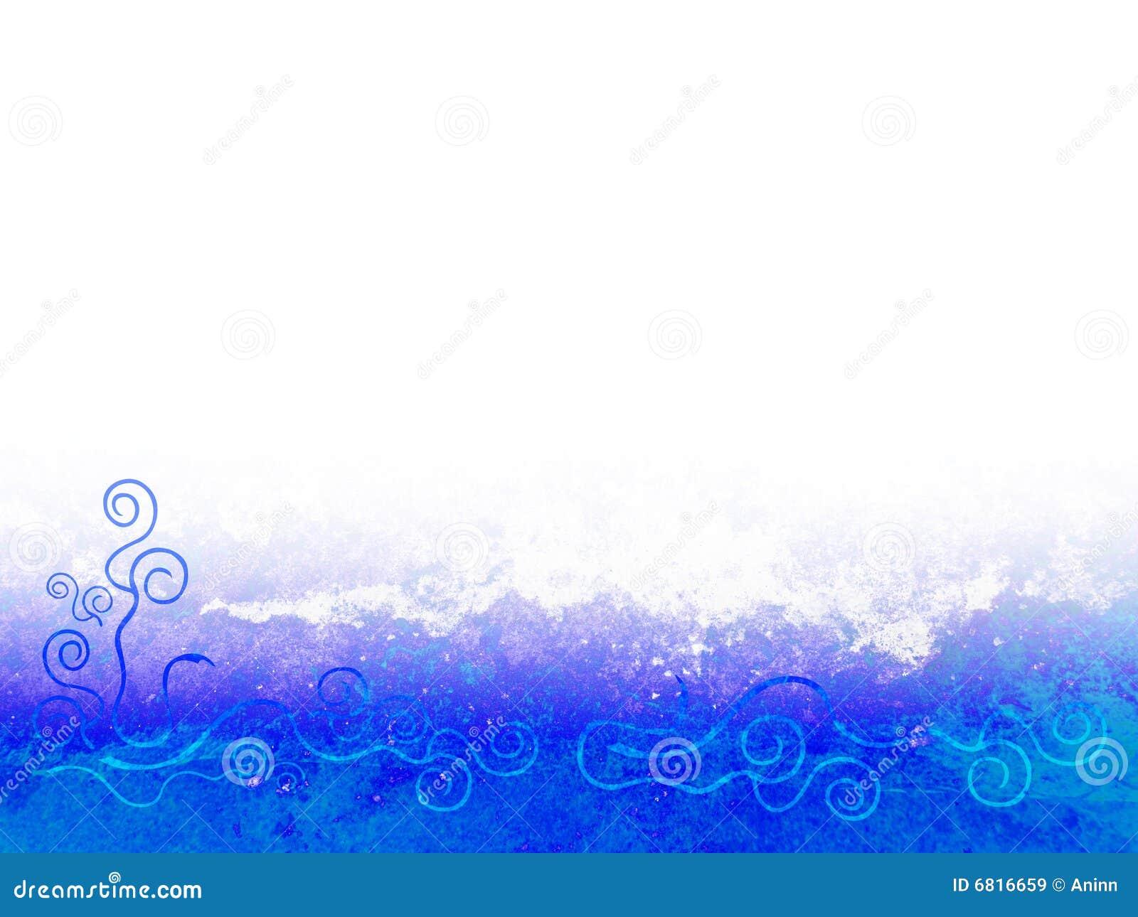 Blue Border Royalty Free Stock Images - Image: 6816659