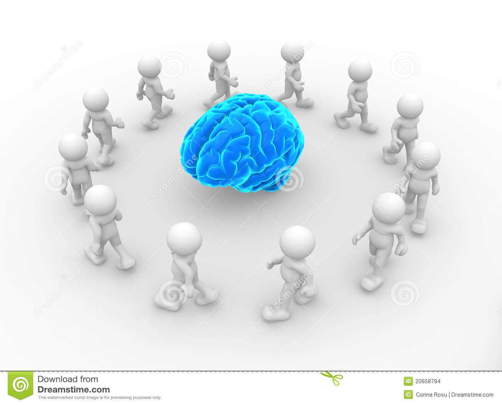 Blue brain stock illustration illustration of genius 20658794 blue brain ccuart Image collections