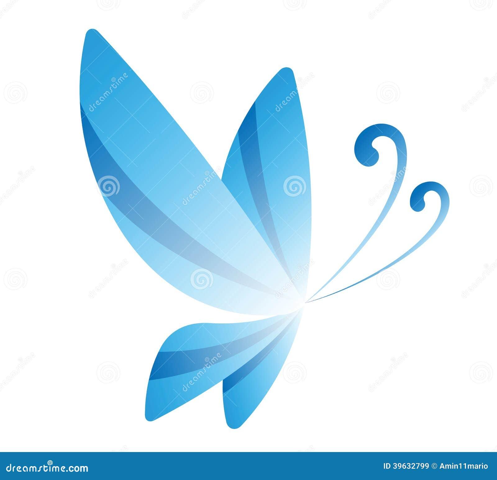 Blue Butterfly Stock Illustration Image 39632799