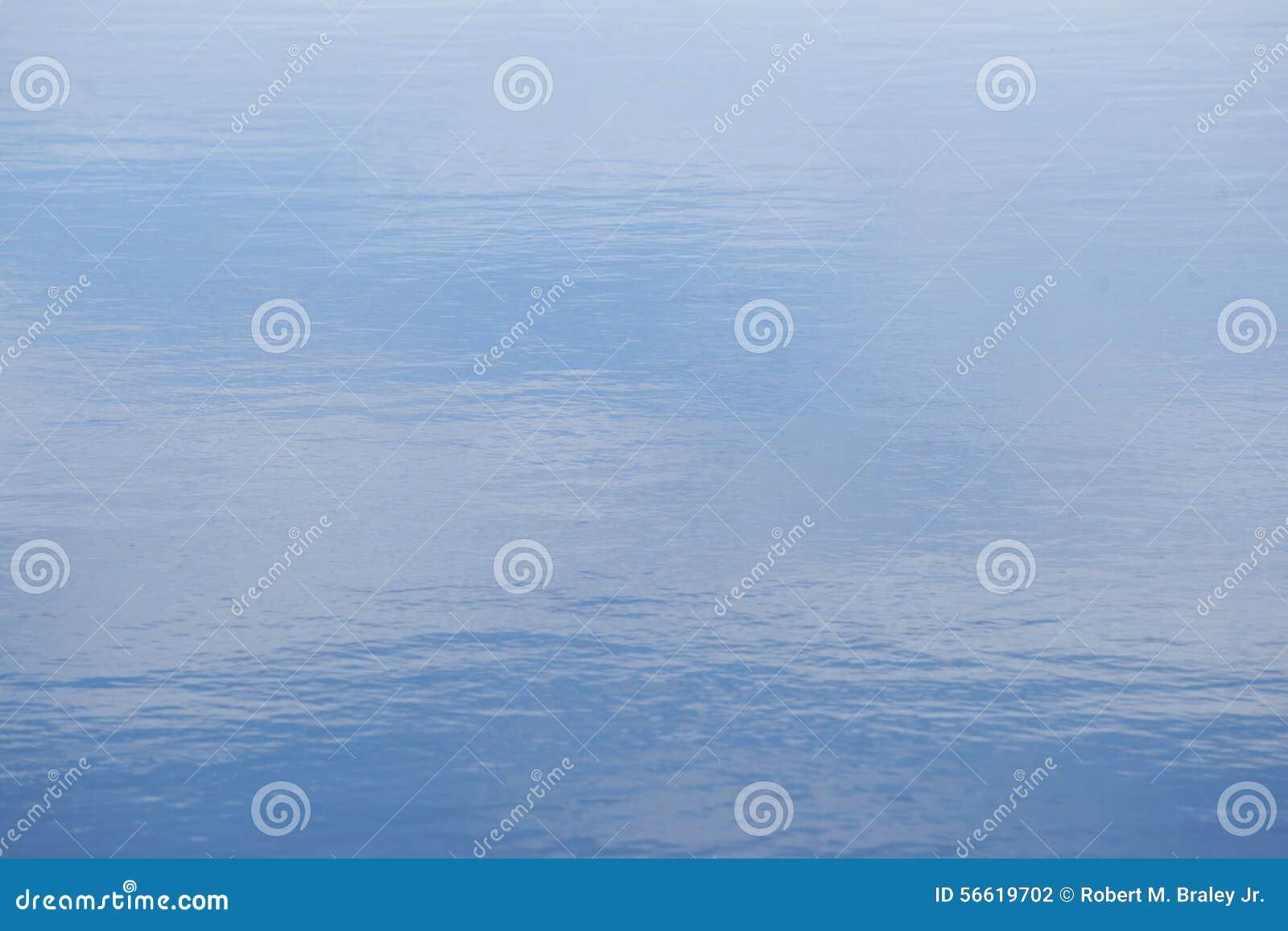 Blue Calm Lake