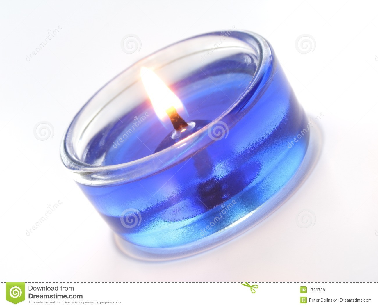 Blue Candle stock photo. Image of burn, flame, blue, holidays ... for Blue Candle White Background  75sfw