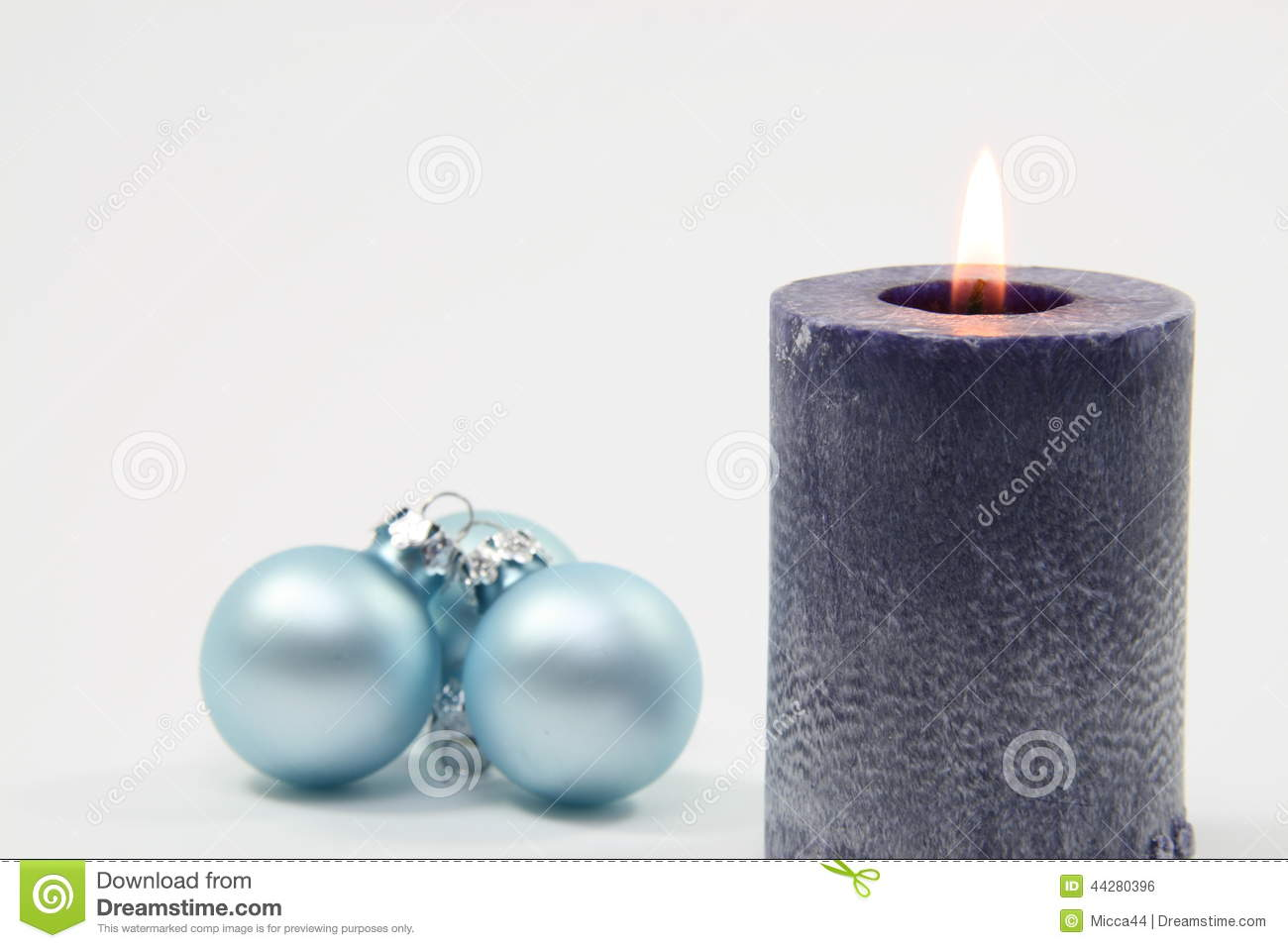 Blue Candle And White Background Stock Photo - Image of flame ... for Blue Candle White Background  585ifm