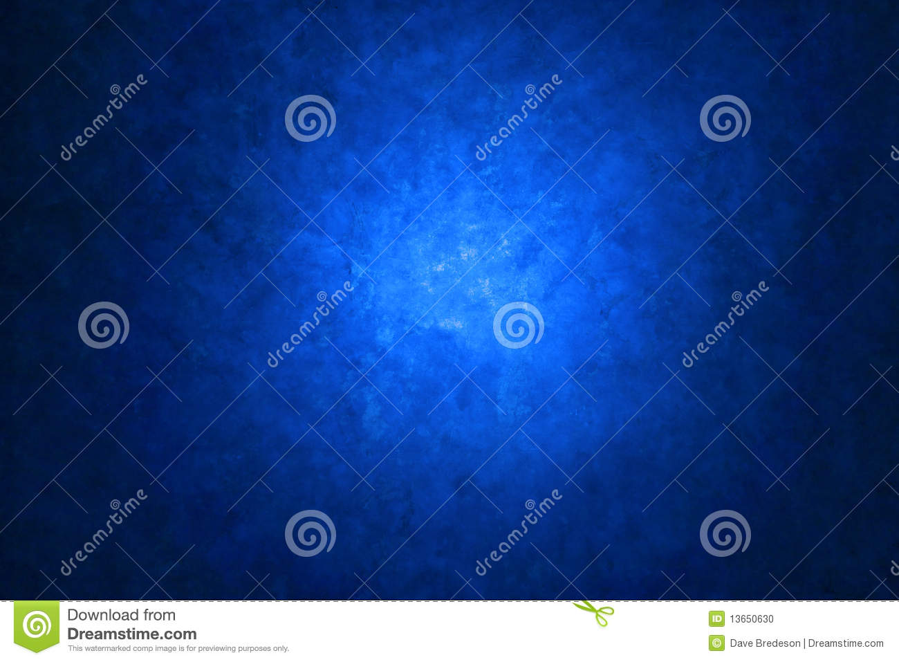 Blue Canvas Painted Background