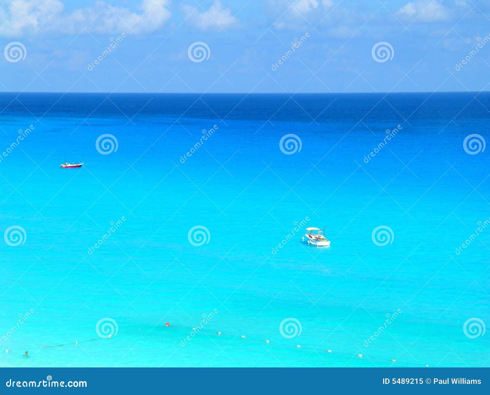 Blue Caribbean Royalty Free Stock Photo Image 5489215