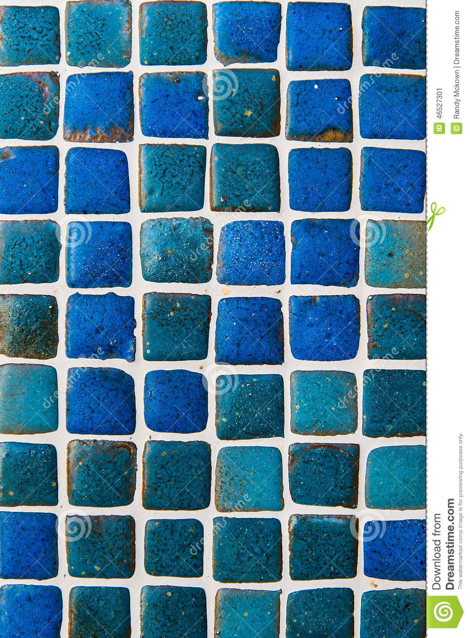 Blue Ceramic Tile Background Pattern / Texture Stock Image - Image ...