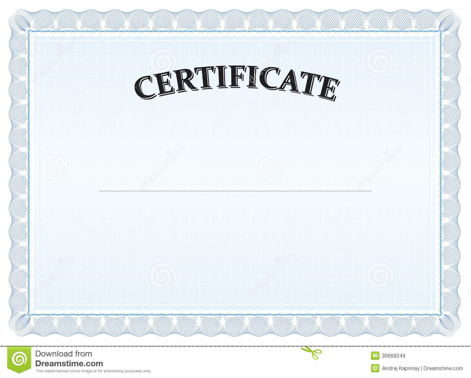 Blue Certificate Graduate Diploma Stock Vector - Image ...