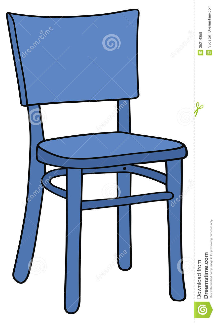 Blue Chair Royalty Free Stock Images - Image: 35214859