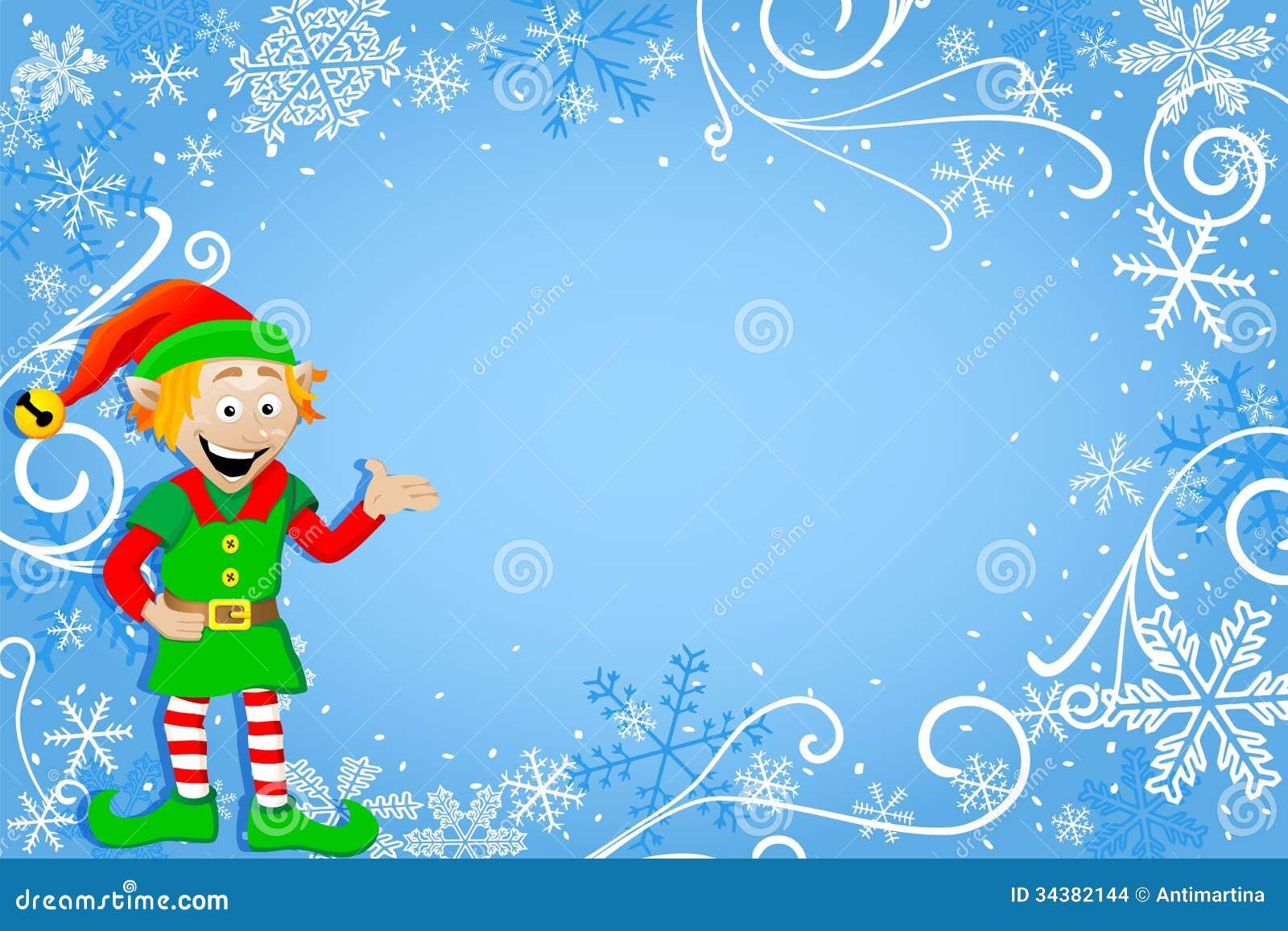 christmas elf wallpaper - photo #30
