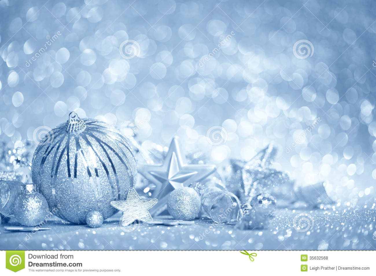 Blue Christmas Background Royalty Free Stock Photos - Image: 35632568