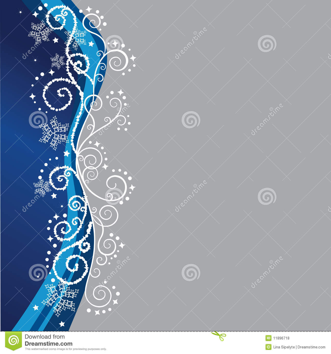 blue christmas border stock vector  image of beautiful