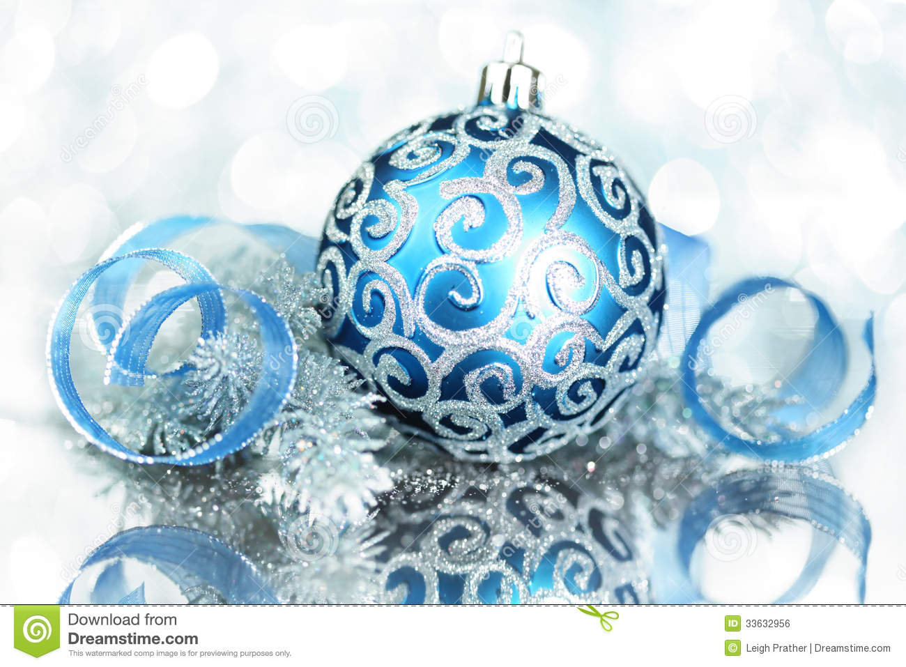 blue christmas decorations - Blue Christmas Decorations