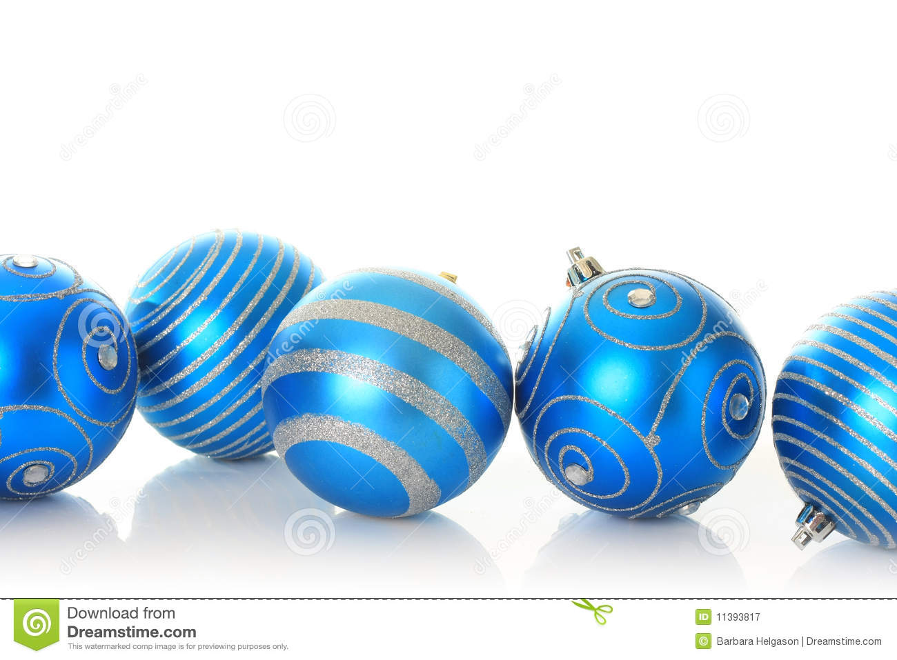 blue christmas ornaments - Blue Christmas Ornaments