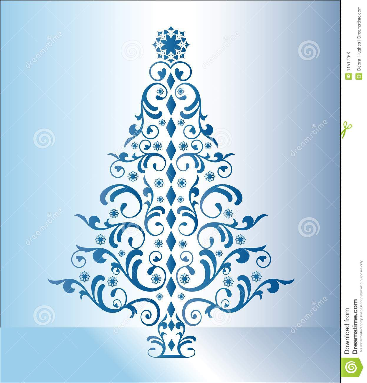royalty free stock photo download blue christmas tree - Blue Christmas Trees