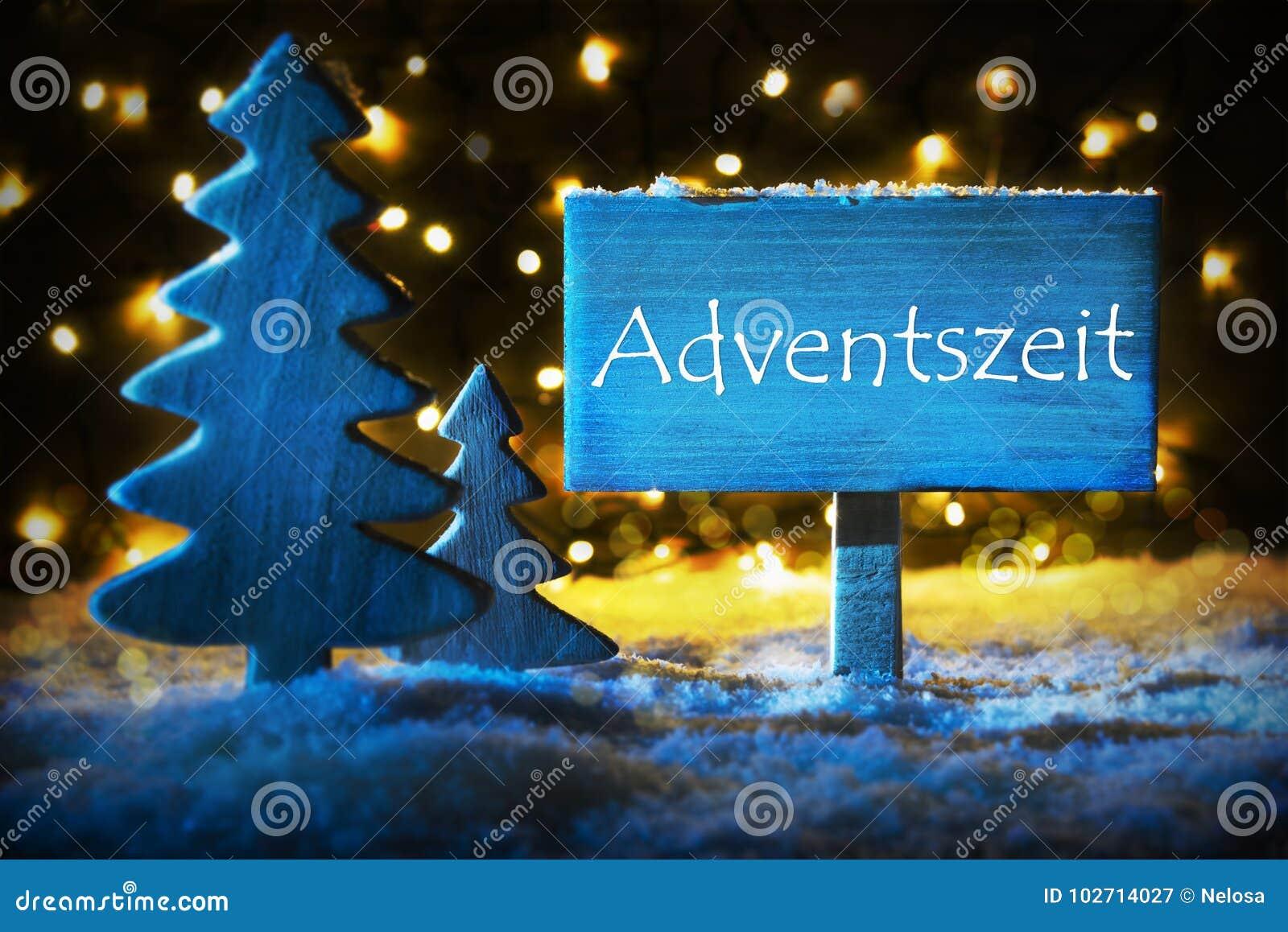 Blue christmas tree adventszeit means advent season stock image blue christmas tree adventszeit means advent season m4hsunfo