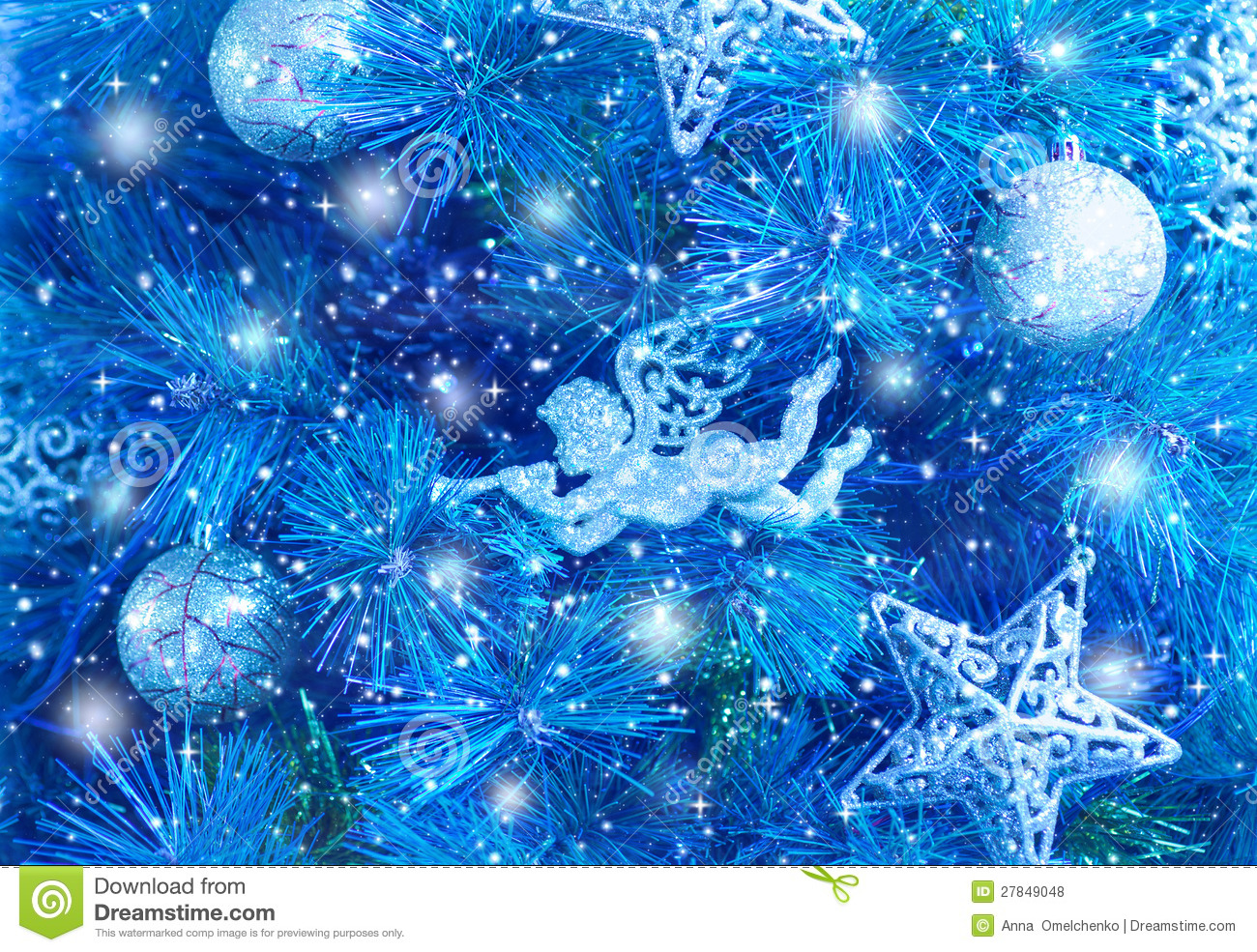 blu christmas tree wallpaper backgrounds - photo #31