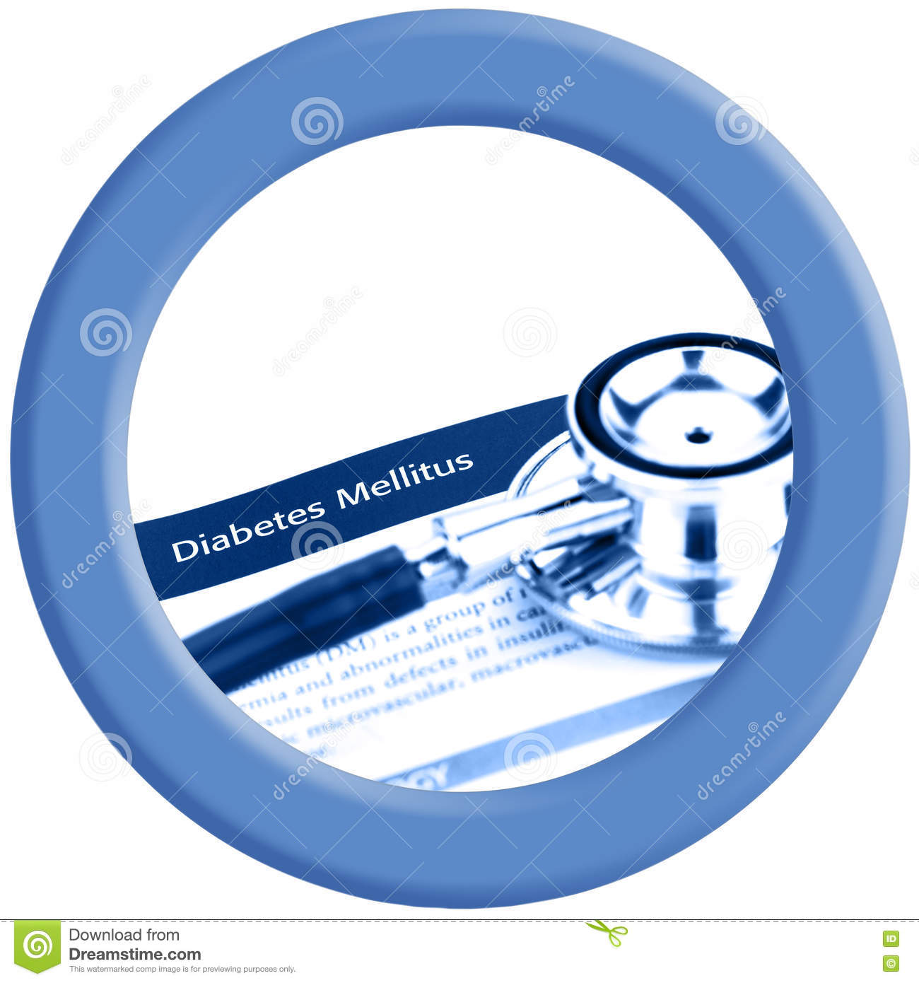 blue circle of paper on white background symbol of world diabetes blue circle of world diabetes day logo stock photos