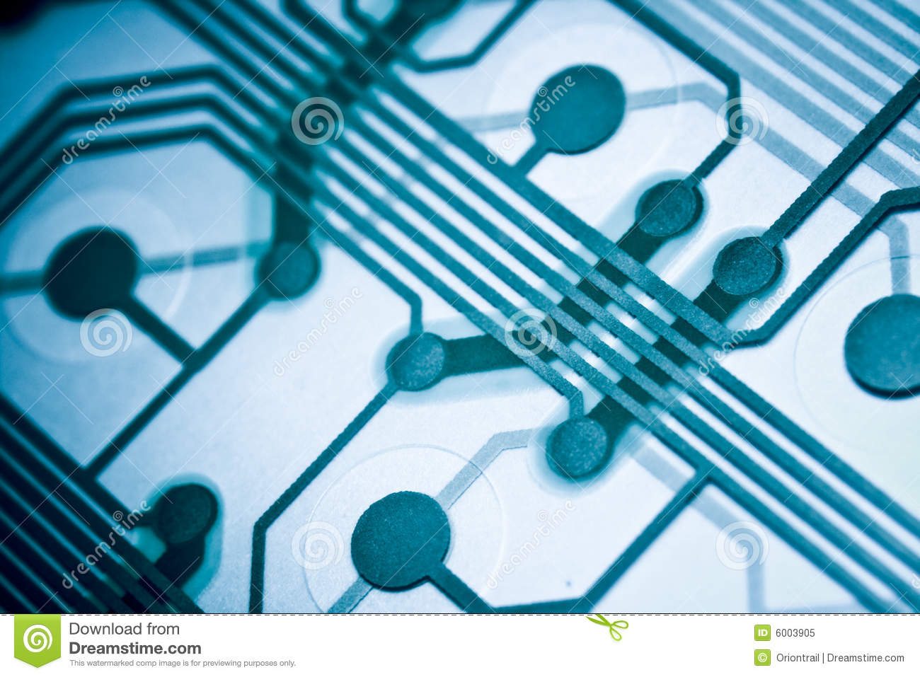 blue circuit board stock image image of micro, closeup 6003905royalty free stock photo blue circuit board